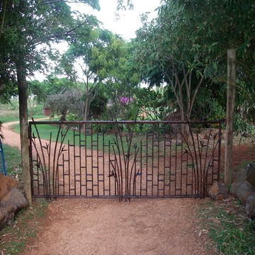 Bamboo Copper Gate